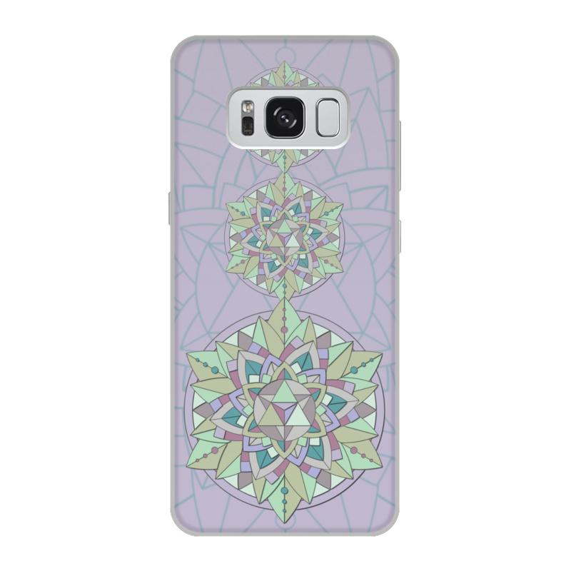 Чехол для Samsung Galaxy S8, объёмная печать Printio Чехол sacred mint цена