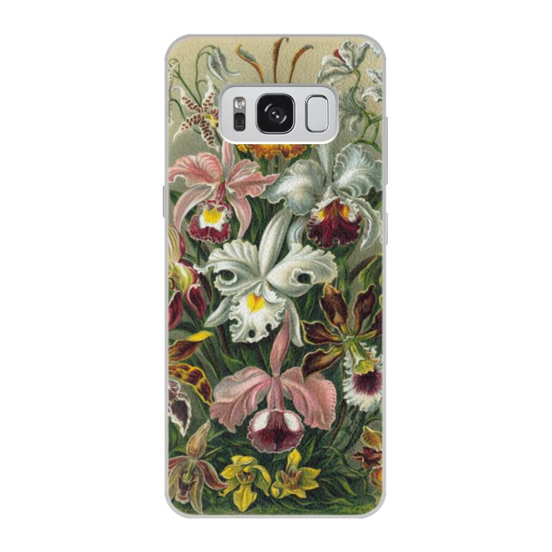 купить Чехол для Samsung Galaxy S8, объёмная печать Printio Орхидеи (orchideae, ernst haeckel) недорого