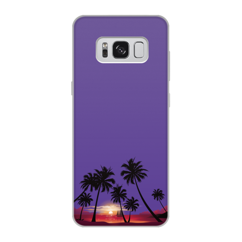 Чехол для Samsung Galaxy S8, объёмная печать Printio Острова в океане htc desire d10w 10 pro cмартфон китайская версия нужно root