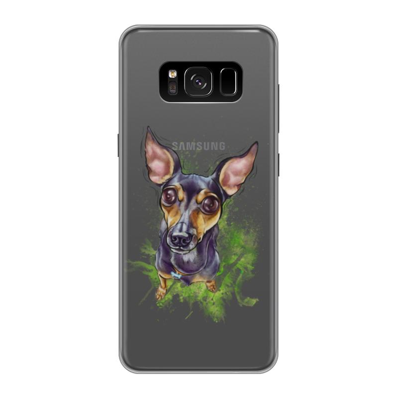 Чехол для Samsung Galaxy S8, объёмная печать Printio Той_терьер чехол силиконовый последний богатырь для samsung s8