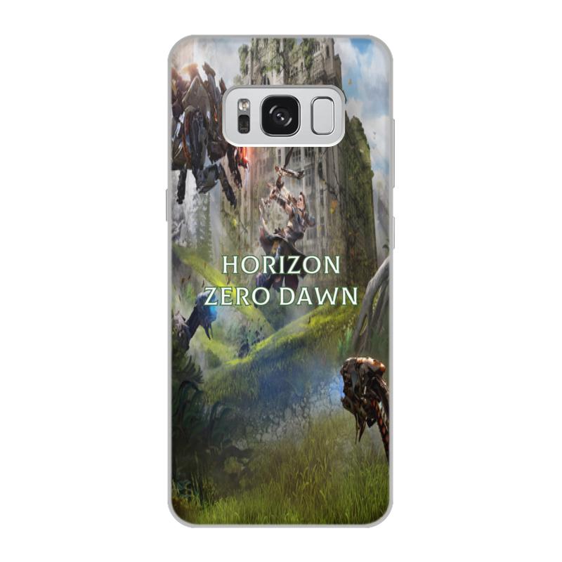 Чехол для Samsung Galaxy S8, объёмная печать Printio Horizon zero dawn чехол для samsung galaxy s8 объёмная печать printio horizon zero dawn