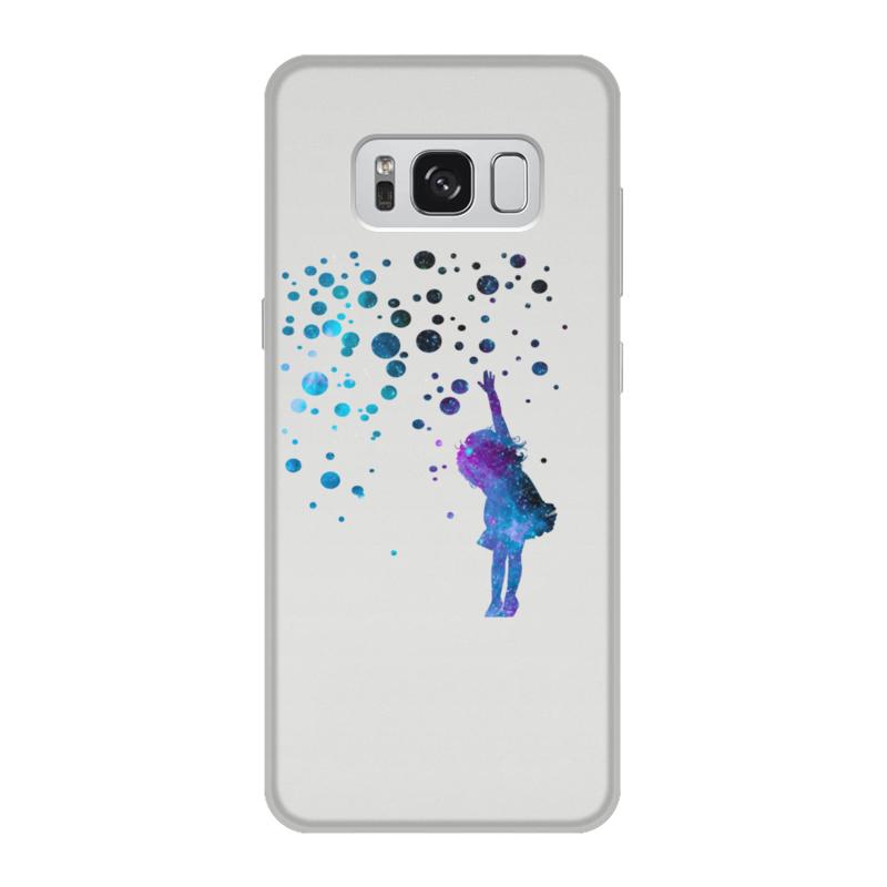 Чехол для Samsung Galaxy S8, объёмная печать Printio Дотянуться до звезд чехол для samsung galaxy note 2 printio дотянуться до звезд