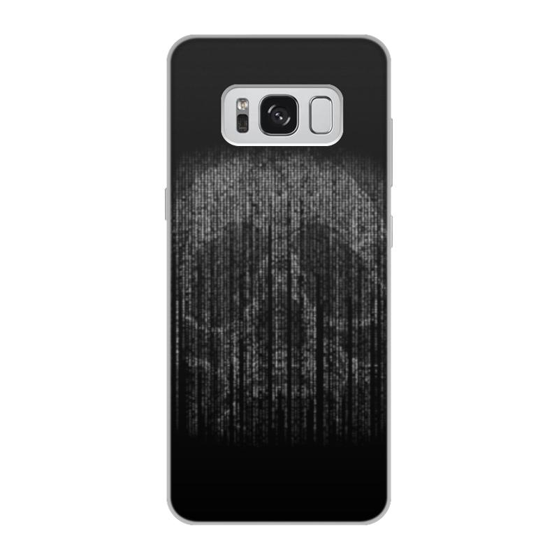 Чехол для Samsung Galaxy S8, объёмная печать Printio Голограмма череп чехол для samsung galaxy s5 printio череп художник