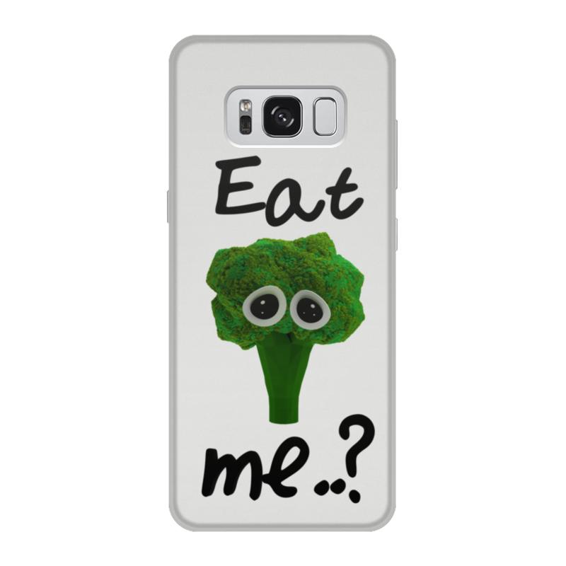 Чехол для Samsung Galaxy S8, объёмная печать Printio Eat me..? цена и фото