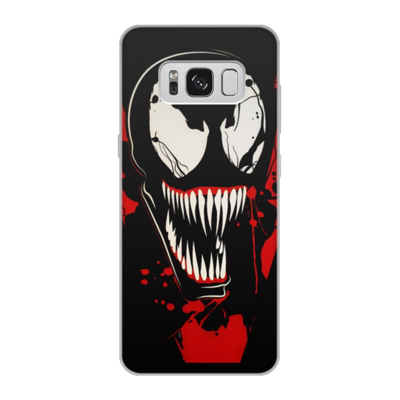 Чехол для Samsung Galaxy S8, объёмная печать Printio Веном (venom)