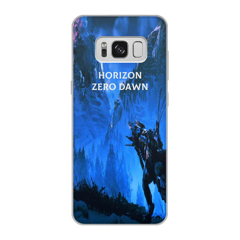 Чехол для Samsung Galaxy S8, объёмная печать Printio Horizon zero dawn чехол для samsung galaxy s8 объёмная печать printio елки и звезды