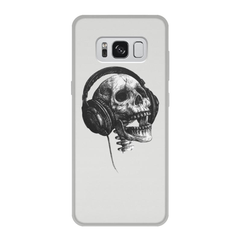 Чехол для Samsung Galaxy S8 объёмная печать Printio Музыка навсегда