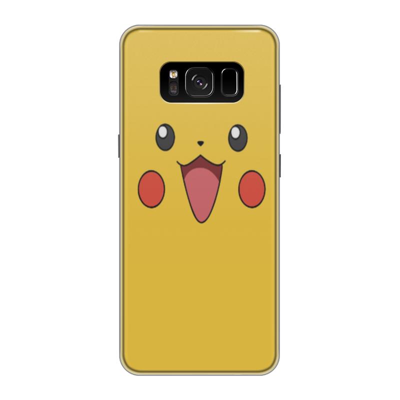 Чехол для Samsung Galaxy S8, объёмная печать Printio Pikachu printio чехол для samsung galaxy s8 силиконовый