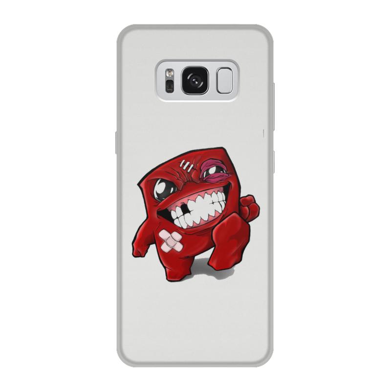 Чехол для Samsung Galaxy S8, объёмная печать Printio Super meat boy super meat boy [pc цифровая версия] цифровая версия