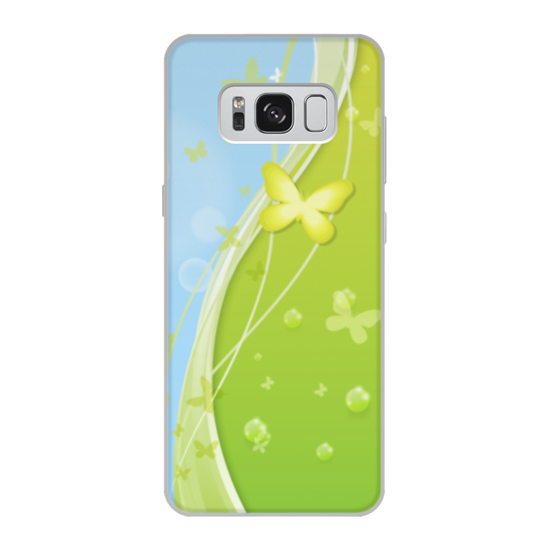 Чехол для Samsung Galaxy S8, объёмная печать Printio Летний мотив odeon light подсветка для картин odeon light penzo 2667 2w