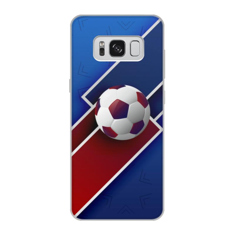 Чехол для Samsung Galaxy S8, объёмная печать Printio Футбол