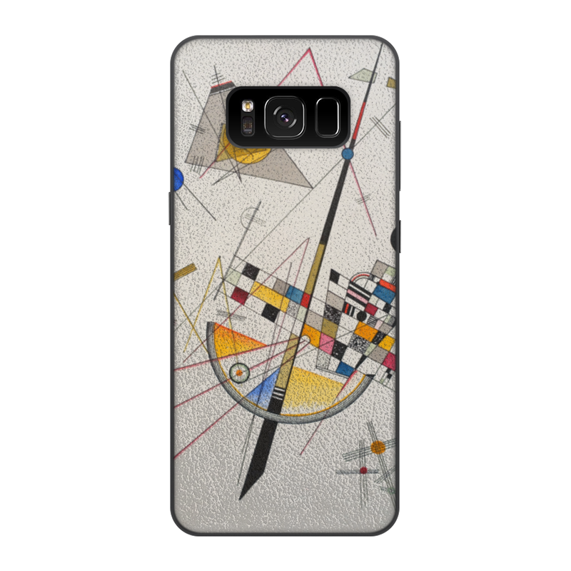 Чехол для Samsung Galaxy S8, объёмная печать Printio Тонкое напряжение (василий кандинский) кандинский блокнот