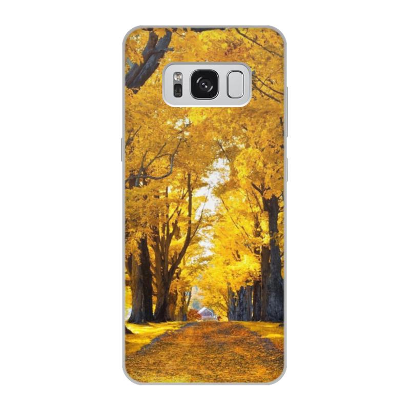 Чехол для Samsung Galaxy S8, объёмная печать Printio Осень аксессуар чехол samsung galaxy s8 celly air case black air690bkcp
