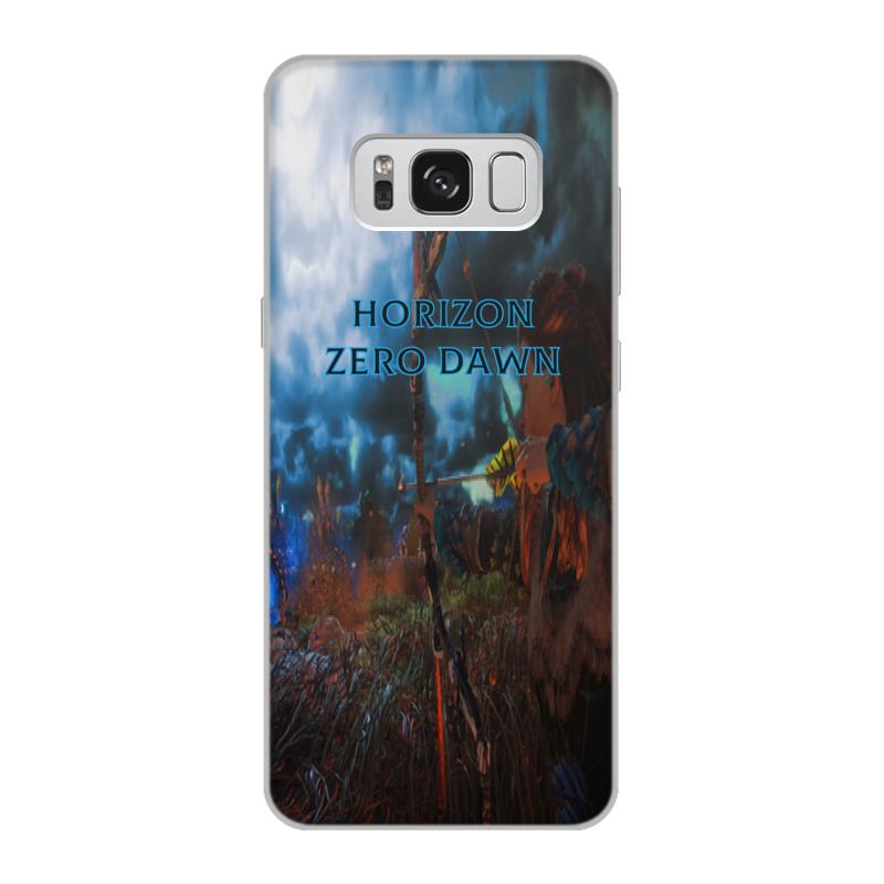 Чехол для Samsung Galaxy S8, объёмная печать Printio Horizon zero dawn