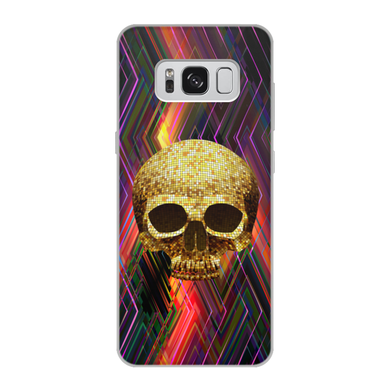 Чехол для Samsung Galaxy S8 объёмная печать Printio Черепушка