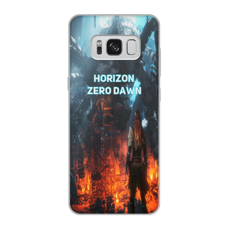 Чехол для Samsung Galaxy S8, объёмная печать Printio Horizon zero dawn цена