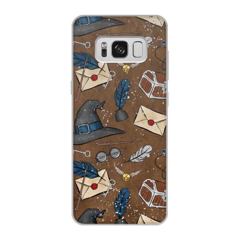 Чехол для Samsung Galaxy S8, объёмная печать Printio По мотивам произведений о гарри поттере цена
