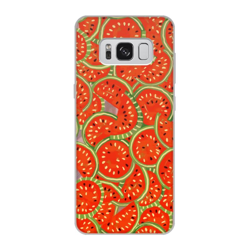 Чехол для Samsung Galaxy S8, объёмная печать Printio Watermelon summer