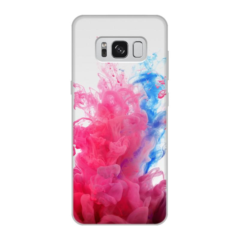 Чехол для Samsung Galaxy S8, объёмная печать Printio Дым дым чехол для samsung galaxy s8 объёмная печать printio cycles perfecta альфонс муха