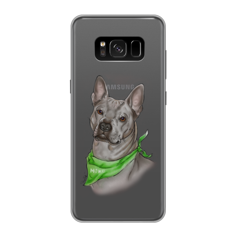 Чехол для Samsung Galaxy S8, объёмная печать Printio Риджбек чехол силиконовый последний богатырь для samsung s8