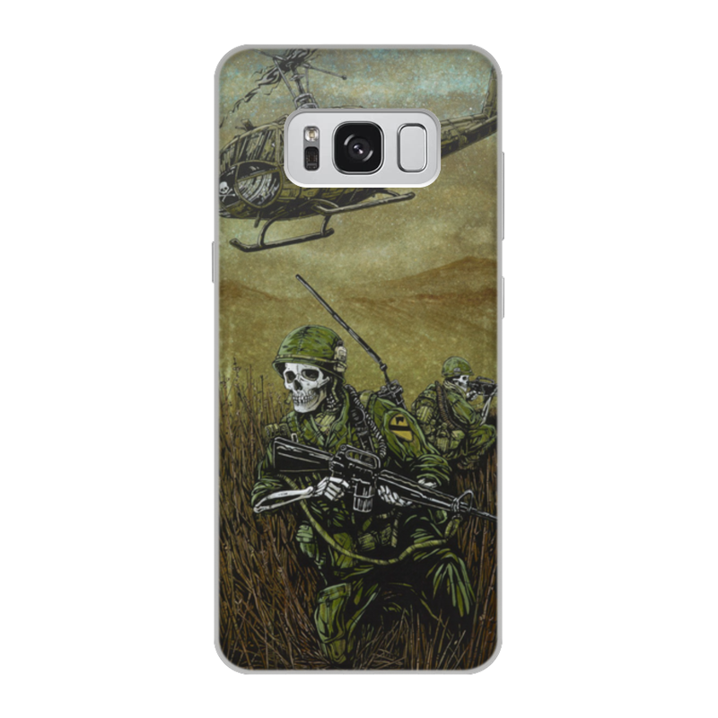Чехол для Samsung Galaxy S8, объёмная печать Printio Война чехол для samsung galaxy s8 объёмная печать printio единорог радужный
