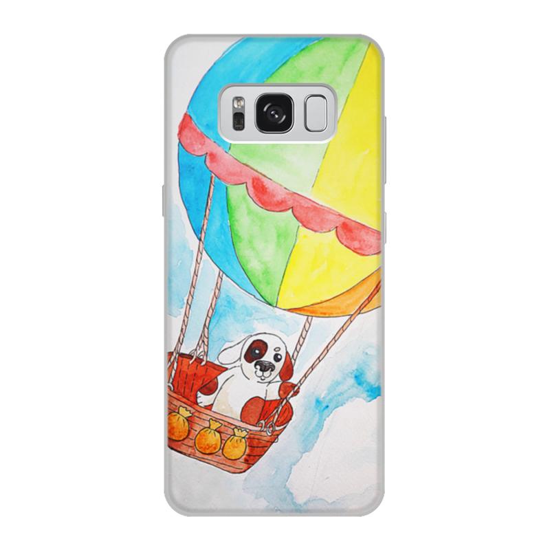 Чехол для Samsung Galaxy S8, объёмная печать Printio Щенок на шаре чехол для samsung galaxy s8 объёмная печать printio cycles perfecta альфонс муха