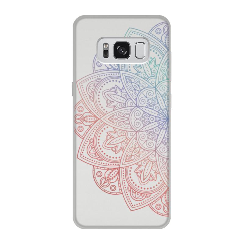 Чехол для Samsung Galaxy S8, объёмная печать Printio Мандала чехол для samsung galaxy s8 объёмная печать printio единорог радужный