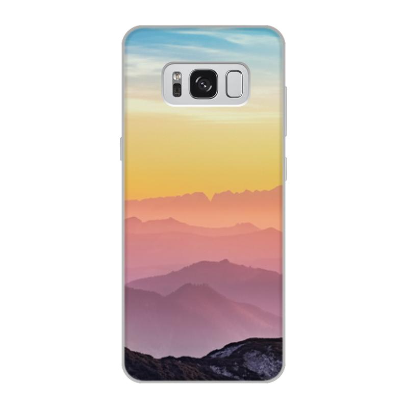 Чехол для Samsung Galaxy S8, объёмная печать Printio Без названия аксессуар чехол samsung galaxy s8 celly air case black air690bkcp