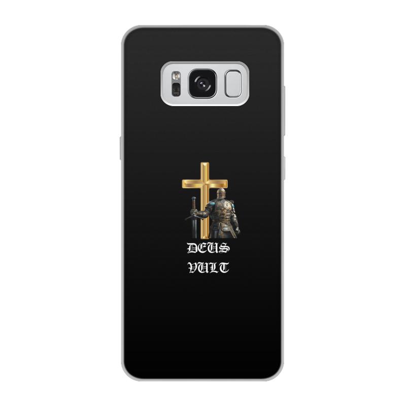 Чехол для Samsung Galaxy S8, объёмная печать Printio Deus vult. крестоносцы