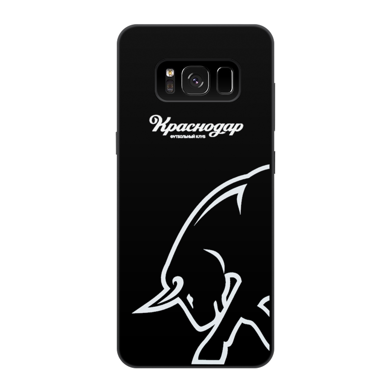 Чехол для Samsung Galaxy S8, объёмная печать Printio Фк краснодар