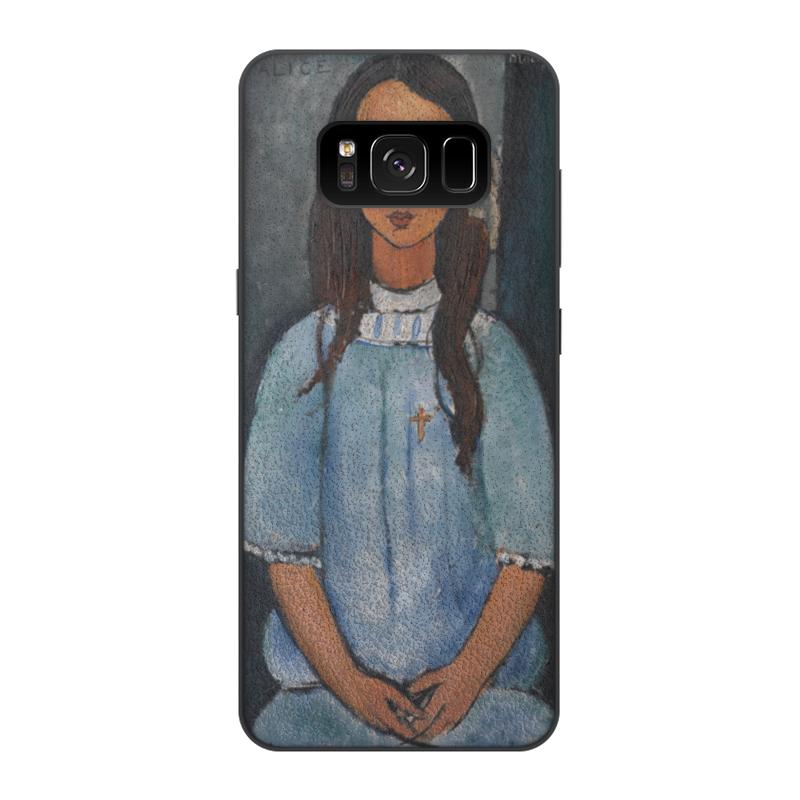 Чехол для Samsung Galaxy S8, объёмная печать Printio Алиса (амедео модильяни) чехол для iphone 4 глянцевый с полной запечаткой printio алиса амедео модильяни