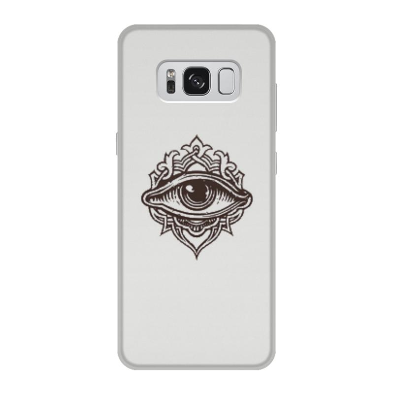 Чехол для Samsung Galaxy S8, объёмная печать Printio Всевидящее око