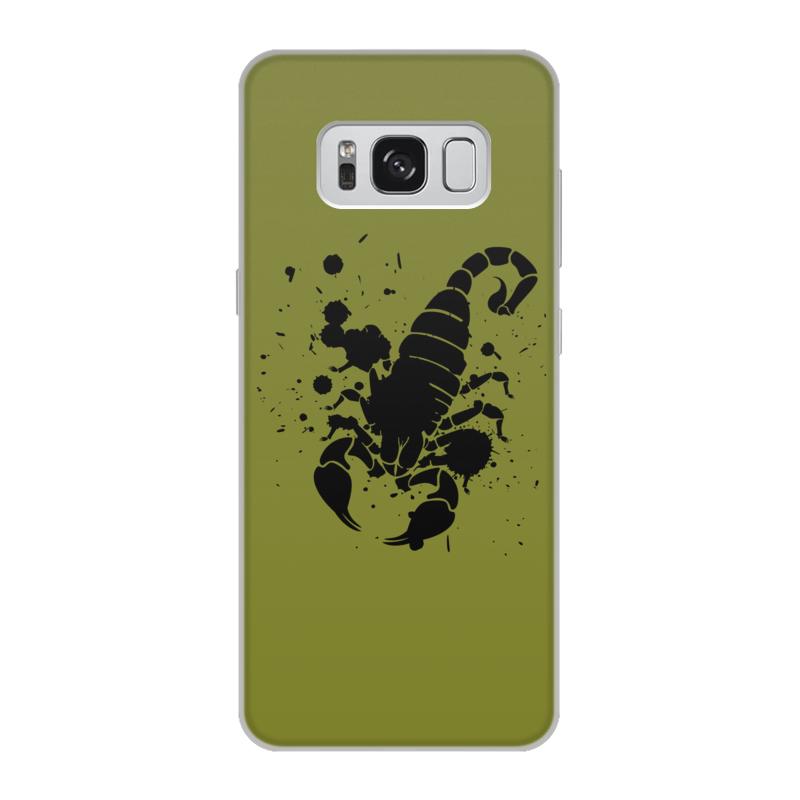 Чехол для Samsung Galaxy S8, объёмная печать Printio Скорпион (24.10-21.11) спусковой механизм для арбалетов скорпион interloper cr 013006