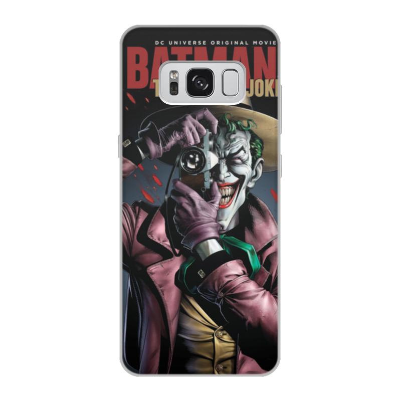 Чехол для Samsung Galaxy S8, объёмная печать Printio Бэтмен джокер batman joker