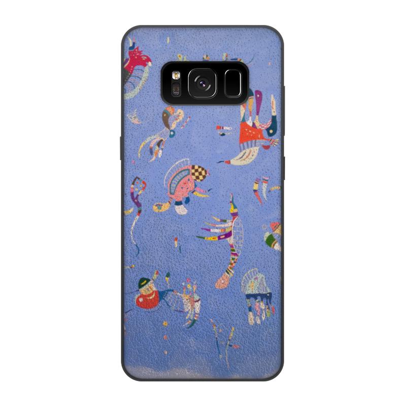 Чехол для Samsung Galaxy S8, объёмная печать Printio Синее небо (василий кандинский) yuerlian синее небо s