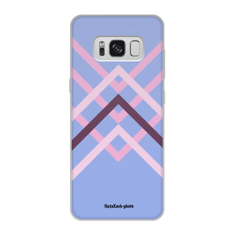Чехол для Samsung Galaxy S8, объёмная печать Printio Графика чехол для samsung galaxy s4 printio графика мак