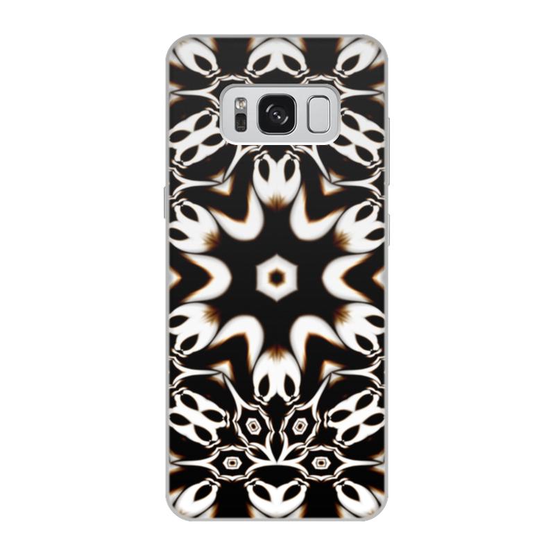 Чехол для Samsung Galaxy S8, объёмная печать Printio Кофейный цена