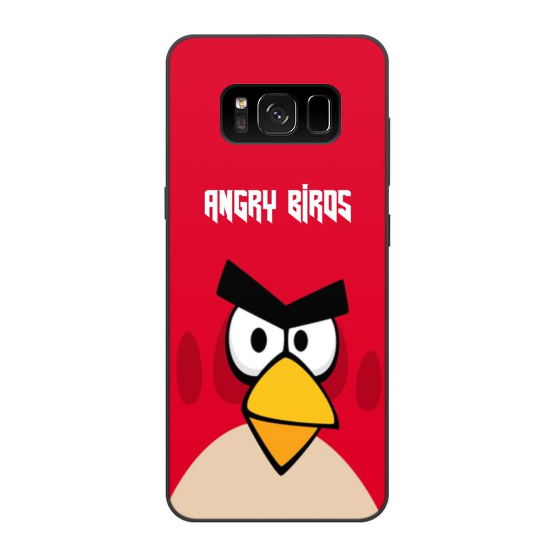 Чехол для Samsung Galaxy S8, объёмная печать Printio Angry birds (terence) чехол для iphone 4 4s angry birds 1 401