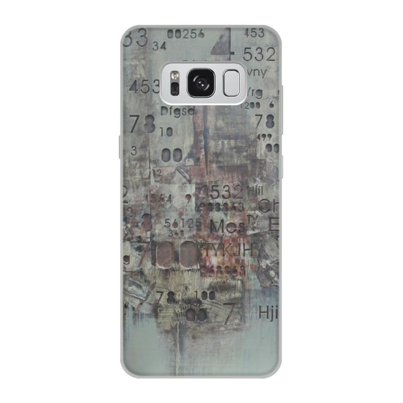 Чехол для Samsung Galaxy S8, объёмная печать Printio Цифры