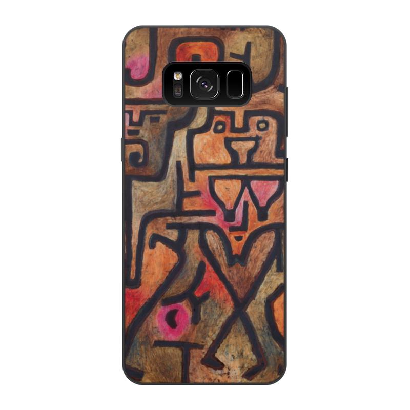Чехол для Samsung Galaxy S8, объёмная печать Printio Лесные ведьмы (пауль клее) чехол для samsung galaxy s5 printio лесные ведьмы пауль клее