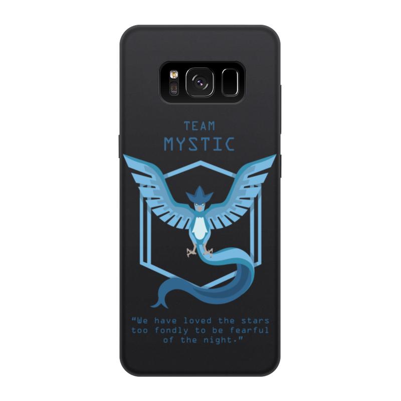 Чехол для Samsung Galaxy S8, объёмная печать Printio Team mystic