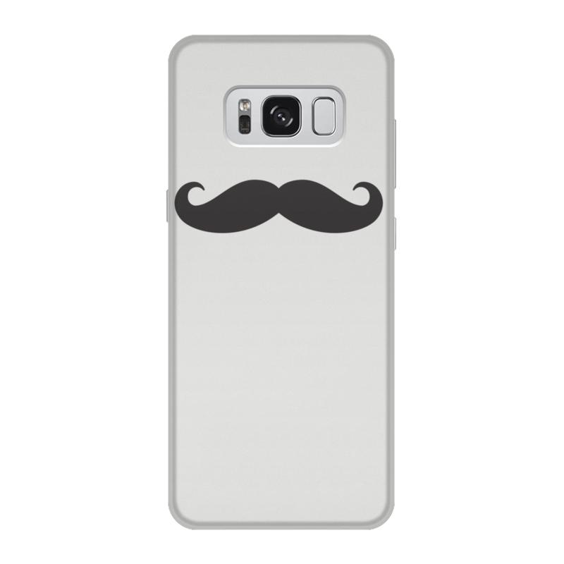 Чехол для Samsung Galaxy S8, объёмная печать Printio Усище (1) samsung me83krqs 1