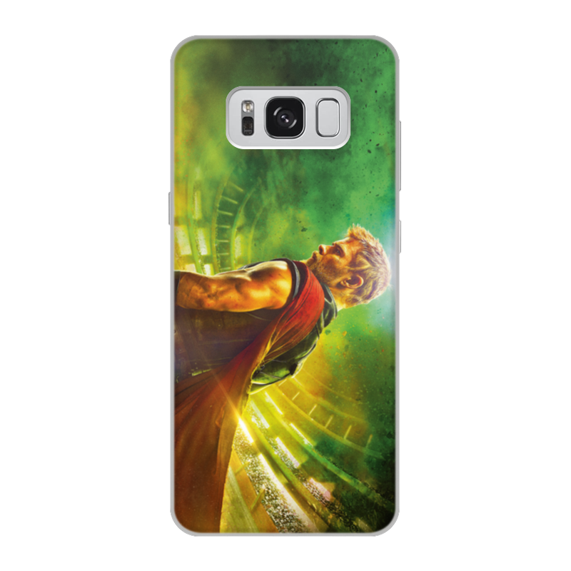 Чехол для Samsung Galaxy S8, объёмная печать Printio Тор рагнарёк