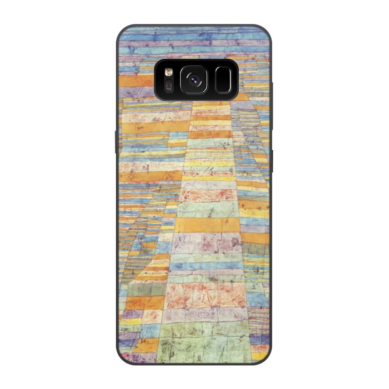 Чехол для Samsung Galaxy S8, объёмная печать Printio и переулки (пауль клее)