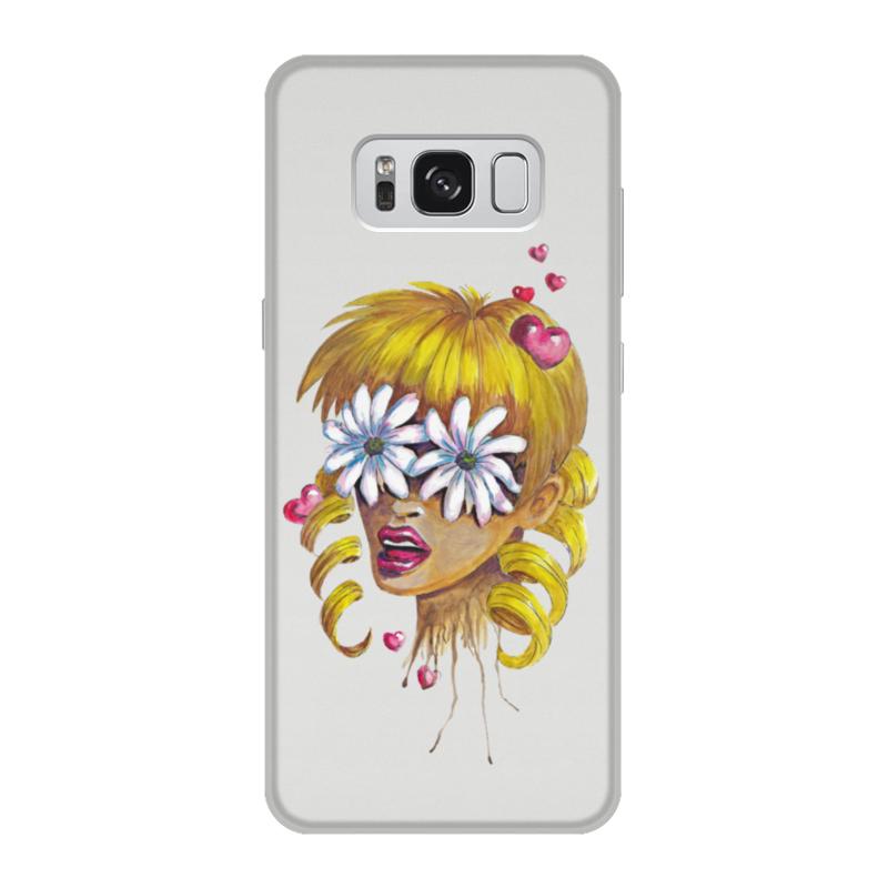 Чехол для Samsung Galaxy S8, объёмная печать Printio Без ума от цветов чехол liberty project для apple iphone 6 6s transperent black
