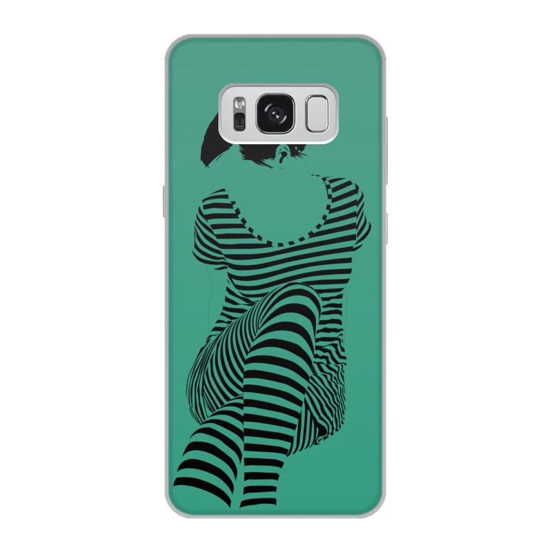 Чехол для Samsung Galaxy S8, объёмная печать Printio раздвоение личности