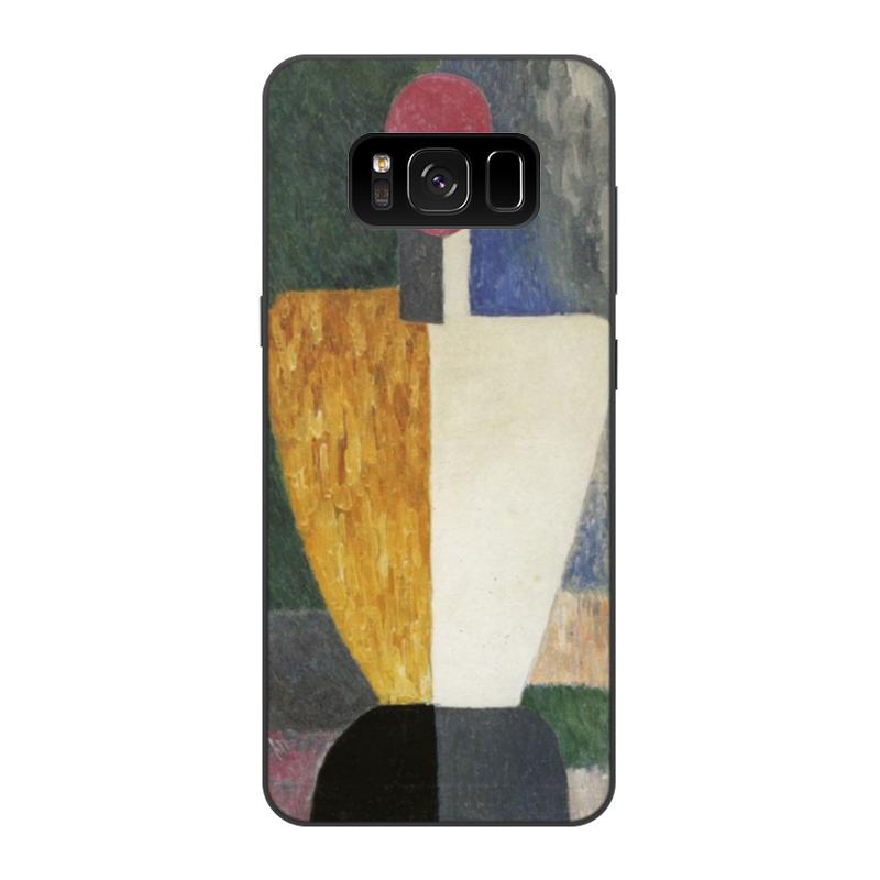 Чехол для Samsung Galaxy S8, объёмная печать Printio Торс (фигура с розовым лицом) (малевич) чехол для samsung galaxy s5 printio торс фигура с розовым лицом малевич