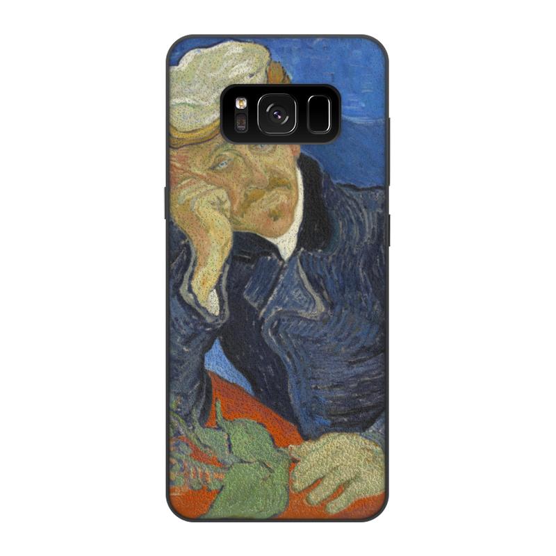 Чехол для Samsung Galaxy S8, объёмная печать Printio Портрет доктора гаше (винсент ван гог) mulinsen autumn