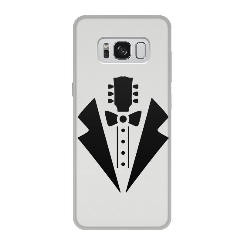 Чехол для Samsung Galaxy S8, объёмная печать Printio Гитара-галстук чехол для samsung galaxy s8 объёмная печать printio елки и звезды