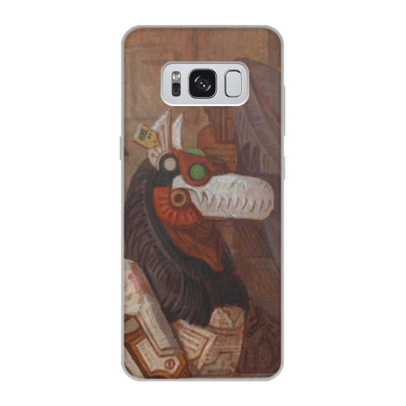 Чехол для Samsung Galaxy S8, объёмная печать Printio Коллекция промо коллекция melkco кожаный чехол для samsung galaxy style duos i8262d красный весенний букет